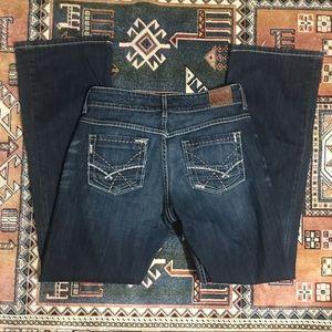 BKE Culture Dark Wash Bootcut Jeans 30 x 31 1/2